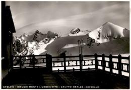 Stelvio - Rifugio Monte Livrio M. 3174 - Gruppo Ortles - Cevedale (3520) * 1. 7. 1935 - Italien