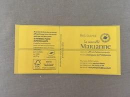 (2018) - Carnet 10 VP / Lettre Prioritaire - Retrouvez La Nouvelle Marianne - 2018-... Marianne L'Engagée