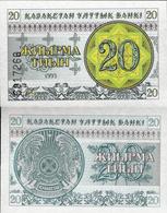 Kazakhstan 1993 - 20 Tyin - Pick 5 UNC - Kazakhstan