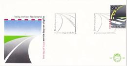 Nederland - FDC - 50 Jaar Veilig Verkeer Nederland - Zebrapad En Wegmarkering - NVPH E203 - Transportmiddelen