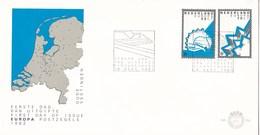 Nederland - FDC - Europa-CEPT 1982, Historische Vestingen - Enkhuizen/Coevorden - NVPH E204 - Aardrijkskunde