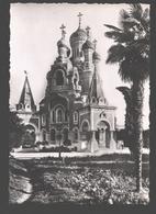 Nice - Cathédrale Orthodoxe Russe De Nice - Vue Extérieure Ouest Et Clocher - Monuments, édifices
