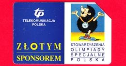 POLONIA - Scheda Telefonica - Usata - 1996 - Giochi Olimpici - Telekomunikacja Polska - Urmet - 50 - Polonia