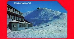 POLONIA - Scheda Telefonica - Usata - 1996 - Monti Dei Giganti - Karkonosze 6 - Telekomunikacja Polska - Urmet - 25 - Polonia