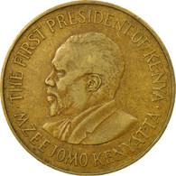 Monnaie, Kenya, 10 Cents, 1970, TB+, Nickel-brass, KM:11 - Kenya