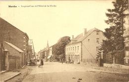 MARCHE  -- La Grand'rue Et L'Hôtel De La Cloche - Marche-en-Famenne