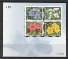 Thailand  Scott 2053a MNH New Year 2003, Flowers Souvenir Sheet - Thailand