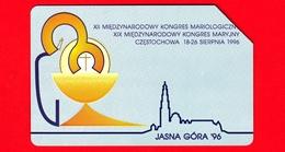 POLONIA - Scheda Telefonica - Usata - 1996 - XII Congresso Di Mariologia, Jasna Gora - Telekomunikacja Polska - 25 - Polonia