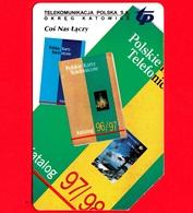 POLONIA - Scheda Telefonica - Usata - 1997 - Catalogo Di Schede Telefoniche Polacche - Karta Telefoniczna – 50 Units - Polonia