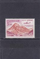 Andorre Français Neuf **  1961-64  Poste Aérienne N° 7  Tourisme. Vallée D'Inclès à Soldeu Et Avion Caravelle - Poste Aérienne