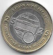 *syria  25 Pounds 2004  Km 131 - Syrie