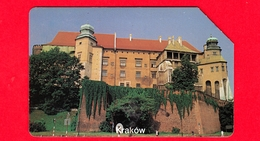POLONIA - Scheda Telefonica - Usata - 1997 - Città Di Krakow - Wawel - Telekomunikacja Polska - Urmet - 50 - Polonia