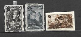 1947 - N. 1105/07 USATI (CATALOGO UNIFICATO) - 1923-1991 URSS