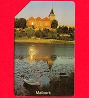 POLONIA - Scheda Telefonica - Usata - 1997 - Città Di Malbork - Karta Telefoniczna Poland – 25 Units - Polonia