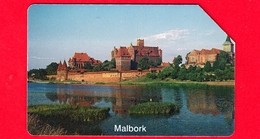 POLONIA - Scheda Telefonica - Usata - 1997 - Città Di Malbork - Telekomunikacja Polska - Urmet - 25 - Polonia