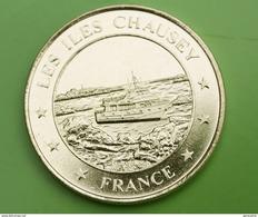 """Jeton Touristique """"Les Iles Chausey - France"""" Vedettes De Granville - Manche  - Normandie - Tourist"""