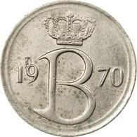 Monnaie, Belgique, 25 Centimes, 1970, Bruxelles, SUP, Copper-nickel, KM:154.1 - 02. 25 Centimes