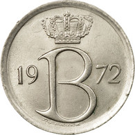 Monnaie, Belgique, 25 Centimes, 1972, Bruxelles, SUP, Copper-nickel, KM:154.1 - 02. 25 Centimes