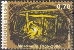 Belgique 2006 COB 3547 Neuf ** Cote (2016) 1.80 Euro 50 Ans Catastrophe De Marcinelle - Belgique