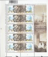 Belgique 2003 COB Feuille Complet F3170 - 3171 Neuf ** Cote (2016) 15.00 Euro Cloches De Malines Et Saint-Pétersbourg - Feuillets