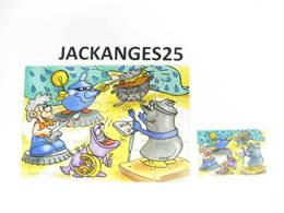 KINDER PUZZLE K02 N 111 2001 + BPZ - Puzzles