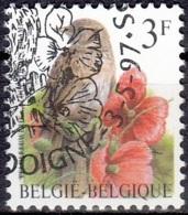 Belgique 1997 COB 2705 O Cote (2016) 0.20 Euro Alouette Des Champs Cachet Rond - Used Stamps