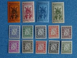 MARTINIQUE- Lot De Timbres Neuf  Xx -20-21-22-19 + Taxe 17/6 - Nuevos
