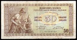 Yugoslavia,1946,P.64a,50 Dinara,as Scan - Yugoslavia