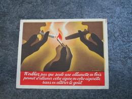 Une Seule Allumette En Bois Permet D'allumer Votre Cigare Ou Votre Cigarette - Documents