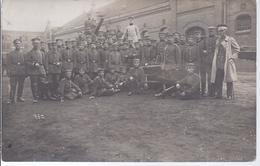Soldateneinheit - Foto Ad. Schimpff.. Leipzig Möckern   -  AK 6822 - Régiments