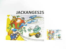 KINDER PUZZLE K02 N 108 2001 + BPZ - Puzzles