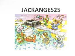 KINDER PUZZLE K02 N 107 2001  SANS OHNE WITHOUT BPZ - Puzzles