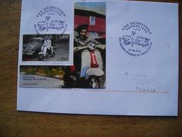 St Pierre & Miquelon, FDC Les Scooters, Lambretta, Italien 125cc 1957 - FDC