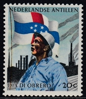 Netherlands Antilles 1960 - Labour Day: Industrial Worker And Flag - Mi 109 ** MNH - Curaçao, Nederlandse Antillen, Aruba