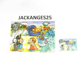 KINDER PUZZLE K02 N 106 2001 + BPZ - Puzzles