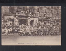 Carte Postale Strasbourg 14 Juillet 1919 - Alsace