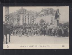 Carte Postale Revue De 14 Juillet 1917 Place De La Nation - Weltkrieg 1914-18