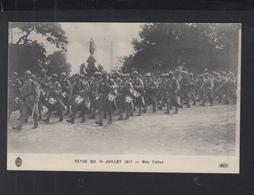 Carte Postale Revue De 14 Juillet 1917 Nos Poillus - Weltkrieg 1914-18