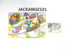 KINDER PUZZLE K02 N 105 2001 + BPZ - Puzzles