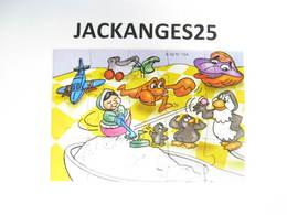 KINDER PUZZLE K02 N 104 2001  SANS OHNE WITHOUT BPZ - Puzzles