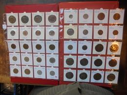 ITALIE 1861-1949. 40 DIFFERENTES DATES/LETTRES. - Monnaies & Billets