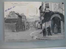CPA Carte Postale Ancienne Paris Rue De Picpus Coté Des Fortifications - France