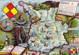 [65] Hautes Pyrénées > Geographie Plan Département - France