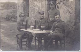 Offiziersgruppe Beim Entspannen - Foto Oltje, Oldenburg   -  AK 6828 - Characters