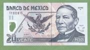 MEXICO  P116f   20 PESOS  29.3.2006  Serie Y UNC. - Mexico