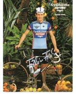 Cyclisme Carte Postale FABIAN FUCHS Signé - Radsport