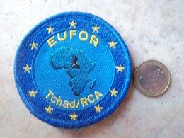 EUFOR Tchad/RCA - Ecussons Tissu