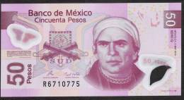 MEXICO  P123k   50  PESOS  3 May 2010 Serie Q       AUNC. - Mexico