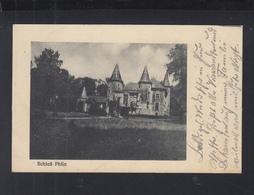 Carte Postale Chateau Phlin 1915 - Frankreich