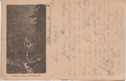 Germany ( Deutsches Reich) Picture Post Card From 1884, WERNIGERODE - STEINERNE RENNE, Used - Wernigerode